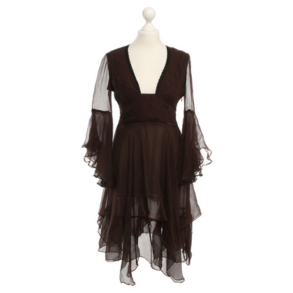 Costume National Dress in brown