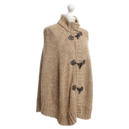 Michael Kors Poncho in Zwart / Wit