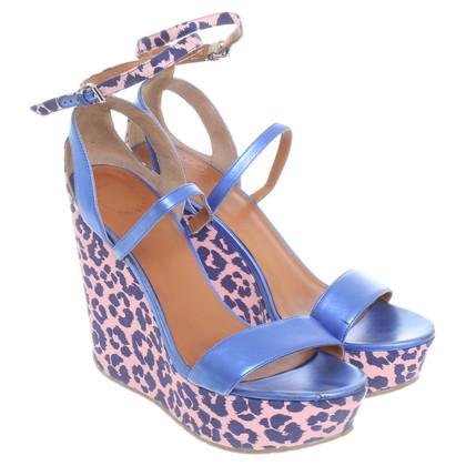 Marc Jacobs Platform sandals with animal print