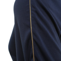 Lanvin Blaues Kleid in Maxi-Länge