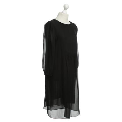 Schumacher Silk dress with tuck