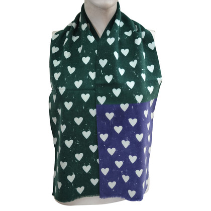 Burberry Prorsum Wool scarf with cashmere