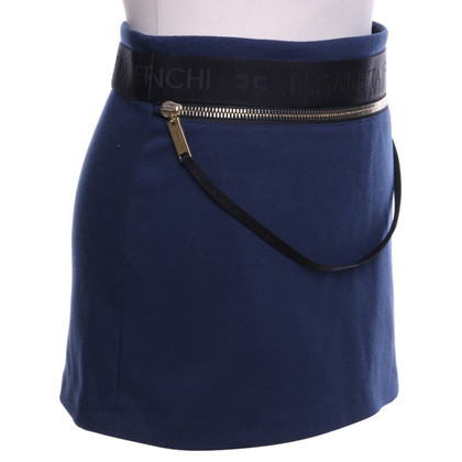 Elisabetta Franchi Short skirt with logo embossing