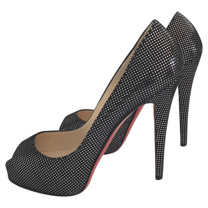 Christian Louboutin Peep toes with pattern