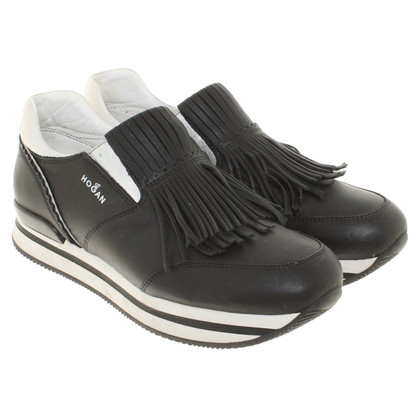 Hogan Sneakers mit Plateausohle