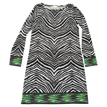 Michael Kors Kleid mit Zebraprint