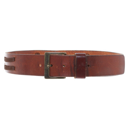 Dolce & Gabbana Leather belt in brown