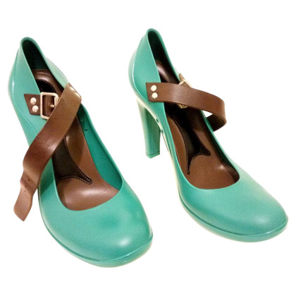 Marni pumps in turquoise