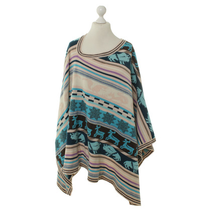 Patrizia Pepe Knitting poncho pattern