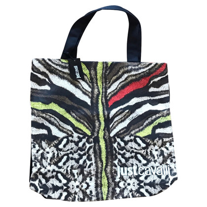 Just Cavalli Zebra stampato shopper