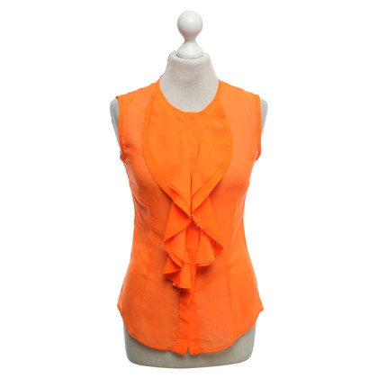 Andere Marke Space - Bluse in Neonorange