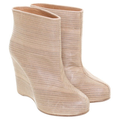 Maison Martin Margiela Wedges in hout look
