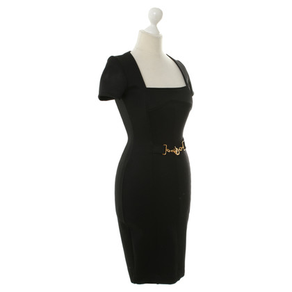 Gucci Black dress with ribbed structure