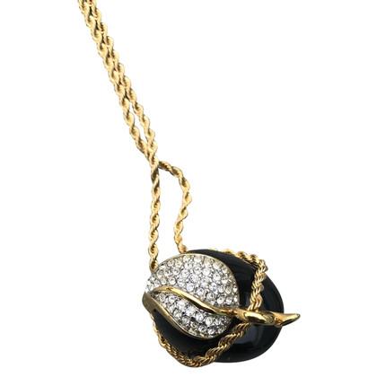 Kenneth Jay Lane Gouden ketting met hanger