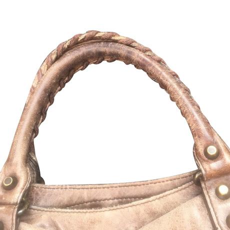 Begrenzt Balenciaga Cite Bag mit Schulterriemen Braun Rabatt Für Billig Günstiger Preis Store zbcjL