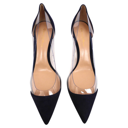Gianvito Rossi pumps met transparantie