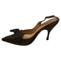 Yves Saint Laurent pumps pelle di coccodrillo