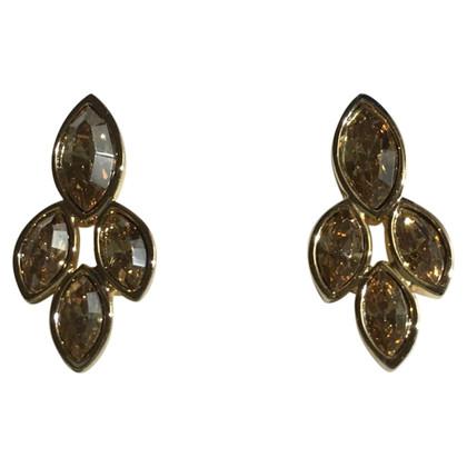 Swarovski Gouden oorbellen