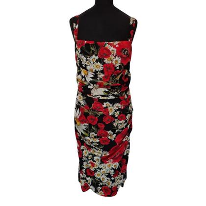 Dolce & Gabbana Silk dress with flowers