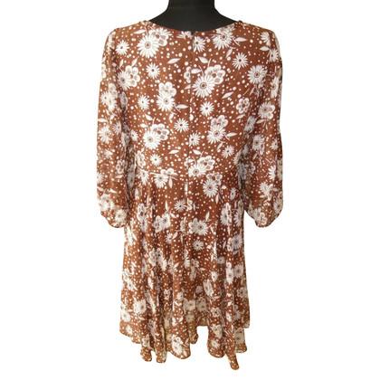 Chloé zijden jurk afdrukken