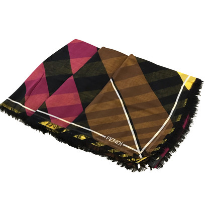 Fendi Schal in Gelb