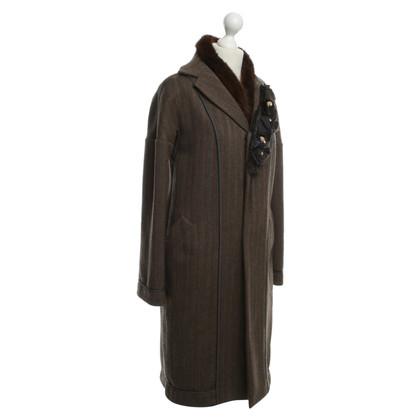 Marni Coat with real fur trim