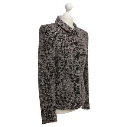 Armani Collezioni Blazer in nero / beige