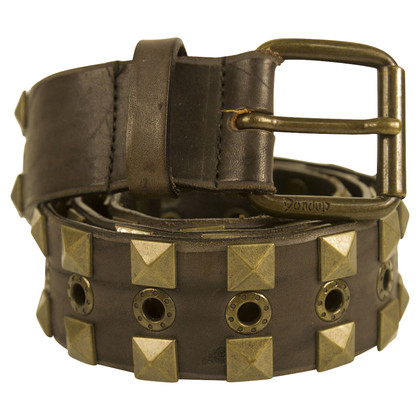 Dondup Brown leather belt