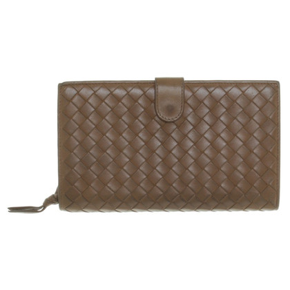 Bottega Veneta Wallet in Brown