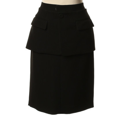 Jean Paul Gaultier skirt with peplum