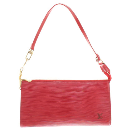 Louis Vuitton Pochette made of Epi leather