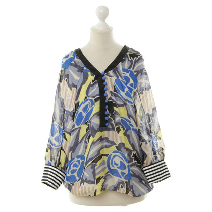 Cacharel Blouse with patterns