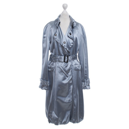 Burberry Prorsum Silk coat in blue