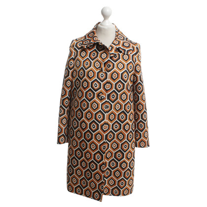 Prada Coat with pattern