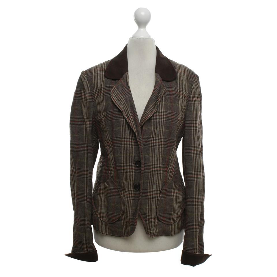 st emile blazer mit glencheck muster second hand st. Black Bedroom Furniture Sets. Home Design Ideas