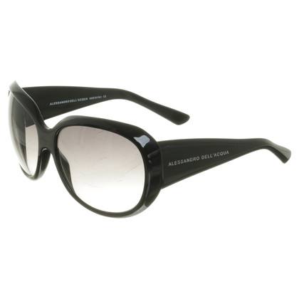 Alessandro Dell'Acqua Sunglasses in black