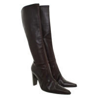 Plein Sud Leather boots in brown