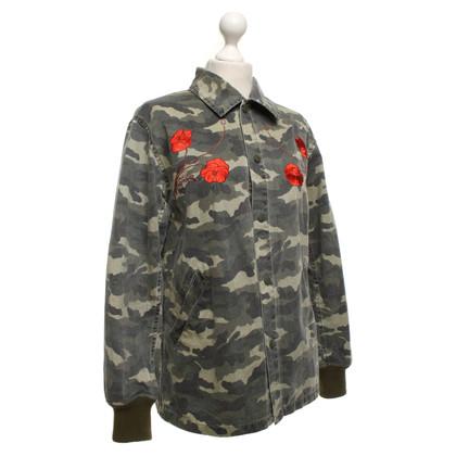 Opening Ceremony Katoenen jas in militaire stijl