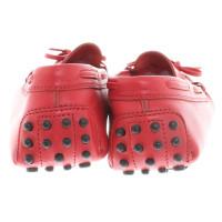 Tod's Slipper in red