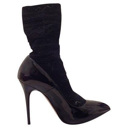 Alexander McQueen Patent leather stilettos