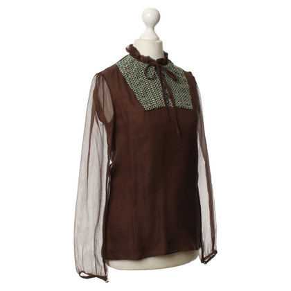 Paul & Joe Blouse in bruin