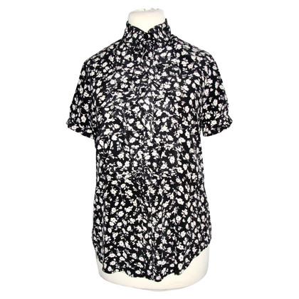 Ralph Lauren Short-sleeved blouse made of silk