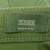 Closed Rock in Green