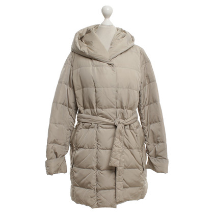 Max Mara Down jacket in beige