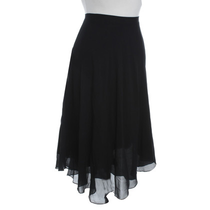 Alberta Ferretti Silk skirt in black