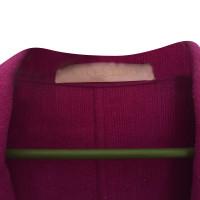 Valentino Coat in fuchsia