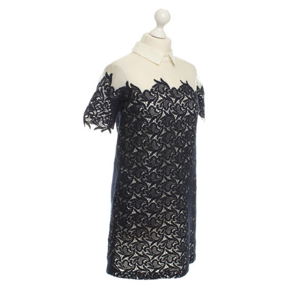 Paul & Joe Lace dress in dark blue