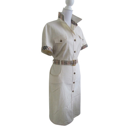 Burberry Weißes Sommerkleid