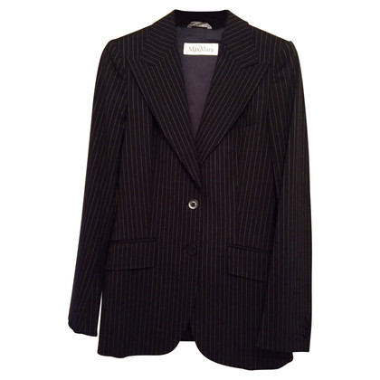 Max Mara Pin stripe suit, 100% wool