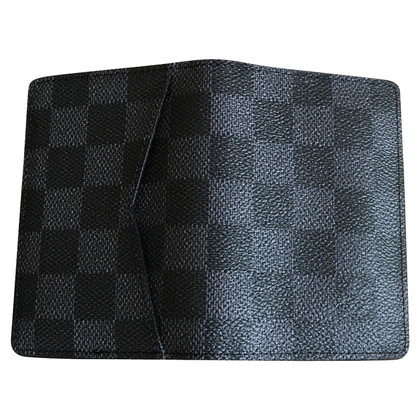 Louis Vuitton Kartenetui aus Damier Graphite Canvas